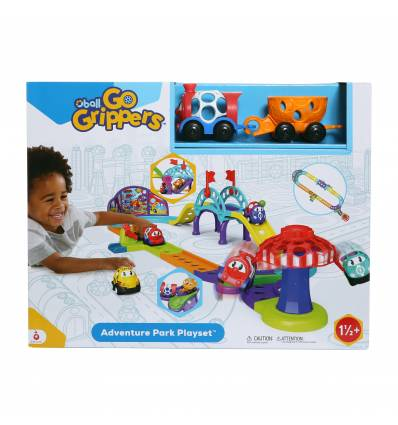 OBALL PISTA DE COCHES ADVENTURE PARK PLAYSET
