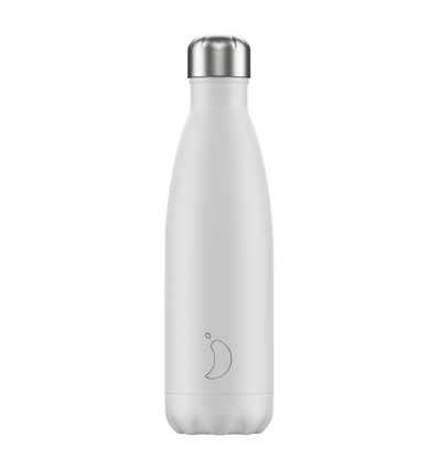 CHILLY´S BOTTLE WHITE MATTE EDITION 500 ML
