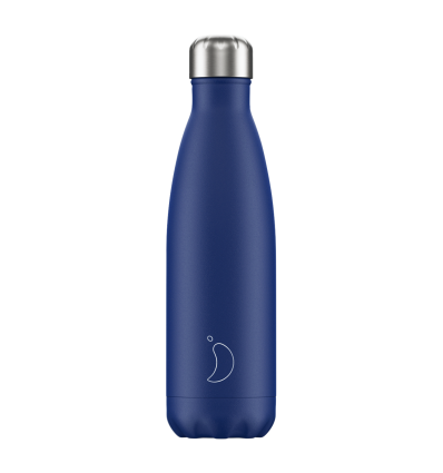 CHILLY´S BOTTLES MATTE EDITION BLUE 500ML