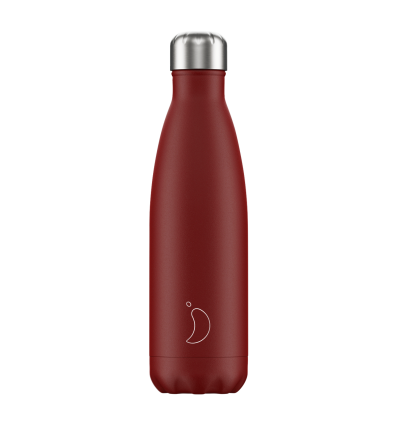 CHILLY´S BOTTLES MATTE EDITION RED 500ML